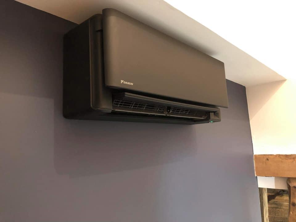 Photo représentant une climatisation mural de la marque daikin